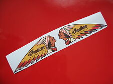 INDIAN MOTORCYCLE (Handed) stickers/decals 1 set