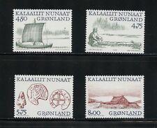 P290  Greenland  1999  Arctic Vikings    4v.  MNH