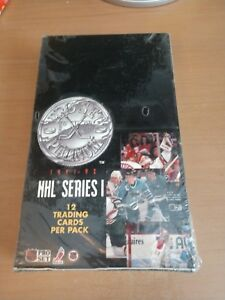 NHL Series 1 Trading cards 36 Pack Box 1991-1992