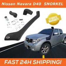 Snorkel / Schnorchel for Nissan Navara D40 2.5 Diesel 2008-> Raised Air Intake