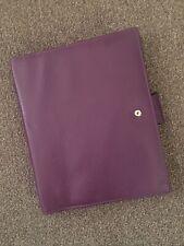 Filofax Calipso Purple No Rings