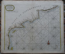 Antique Print-Sea Chart-India-Coromandel-Ar magaon-Petepoly-Thronton-1 750