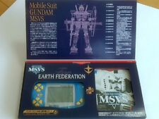 WONDERSWAN Console Mobile Suit GUNDAM MSVS EARTH FEDERATION Limited  Boxed -Q2-
