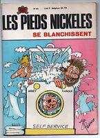 Les Pieds Nickelés se blanchissent.  Album n°65. SPE.  EO. 1969. PELLOS