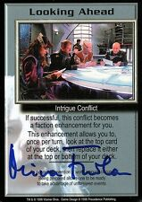 Babylon 5 Ccg Mira Furlan Premier Edition Looking Ahead Autographed