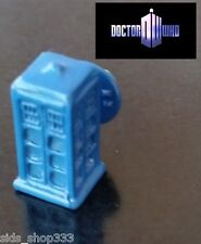 DR Doctor Who TARDIS 3-D Blue POLICE BOX Enamel METAL Charm Pin Brooch cosplay