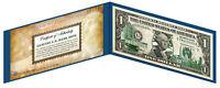 MARYLAND State $1 Bill *Genuine Legal Tender* U.S. One-Dollar Currency *Green*