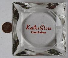 1970s Era Indianapolis,Indiana Keith's Mens store Castleton Square Mall ashtray!