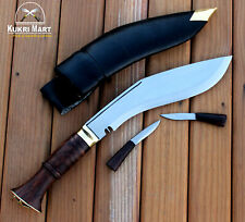 "Official Nepal Police Issued 9"" Long Blade Hand Made Gurkha Khukuri From Nepal"