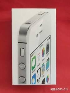 Apple iPhone 4s 16GB Black White (Unlocked) A1387 (CDMA + GSM) IOS6 Sealed