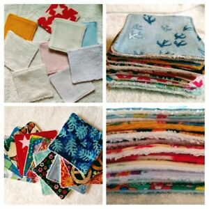 Bamboo Washable Makeup Wipes (6 pack) Reusable Wipes, Cloth Wipes, Eco-Friendly