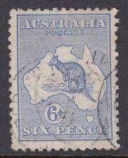 AUSTRALIA :1913 6d ultramarine  die II  SG 9 used