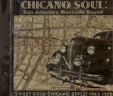 CHICANO SOUL:  SAN ANTONIO'S WESTSIDE SOUND - 25 VA Tracks