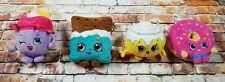 "(GG-7412) Shopkins Mini 7"" Pillow Stuffed Doll Plush Toy Lot"