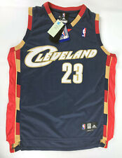 LeBron James #23 Cleveland Cavaliers adidas Jersey Blue Red Gold Size 52