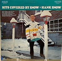 Hank Snow, Hits Covered By Snow, 1968 RCA LSP-4166 Vinyl LP - VERY RARE PROMO!!
