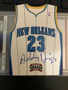 Anthony Davis Panini Threads 2012/13 RC Die Cut On Card Auto Lakers Rookie