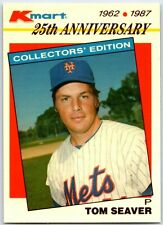1987 Topps Kmart 25th Anniversary- Tom Seaver #21 New York Mets HOF