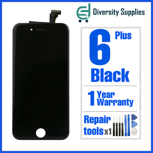 OEM Apple iPhone 6 Plus LCD Touch Screen Digitizer Display Replacement Black 6+