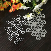 Love String Design Metal Cutting Die For Diy Scrapbooking Album Paper Card Mo JC
