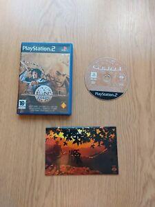 PS2 PlayStation 2 game 'Genji' (PAL) - from game creator Yoshiki Okamoto