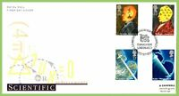 G.B. 1991 Scientific Achievements set on Royal Mail First Day Cover