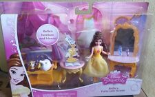 2014 DISNEY PRINCESS Little Kingdom ~ Belle ~ Fairy-tale Scene NEW IN BOX