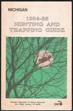 1984 Michigan Hunting and Trapping Guide - Dnr