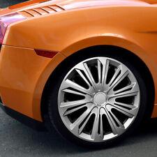 "SET of 4 HUB CAPS, Wheel Trims Universal ABS Push-In 13"" 14"" 15"" 16"" /// 061-064"