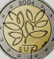 More details for finland coin 2€ euro 2004 commemorative eu enlargement new unc tree bimetallic