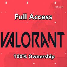 Valorant compte UE 🔥 un accès complet ✅ e-mail INSTANT DELIVERY ✅ 100% satisfacttion ✅