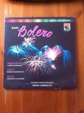 Ravel, Bolero - Classical Vinyl LP Record 1981 (VA25005)