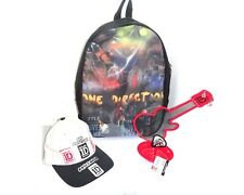 Set of Backpack Hat and Earring Organizer 1D One direction Carry Tote Shoulder