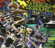 AVENGED SEVENFOLD-LIVE IN THE LBC & DIAMONDS IN THE ROUGH-JAPAN CD+DVD H70