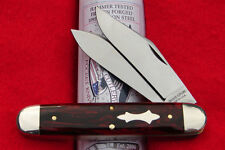 Great Eastern Tidioute Red River Acrylic #54 Big Jack Knife - GEC - USA 541217