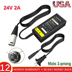 24V/42V 2A Electric Bike Scooter Battery Charger For Bladez XTR, Currie,GT ,IZIP