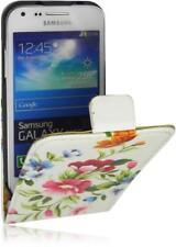 Samsung Galaxy Core Plus G3500 Flip PU Leder Tasche Handy Flower/Design-2/Hülle