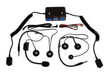 Terraphone Clubman Intercom Kit - 1 Open 1 Full Face Headset - Race, Rally