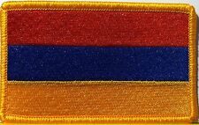 ARMENIA Flag Patch With VELCRO® Brand Fastener  Military Emblem #802