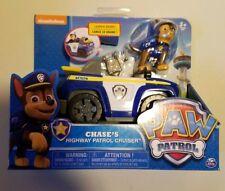 Chase's HIGHWAY PATROL Cruiser Paw Patrol Vehicles & Figure playset Nickelodeon