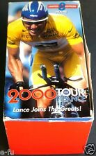2000 TOUR DE FRANCE Lance Armstrong Joins The Greats 4 VHS Tape Box Set 8 hours