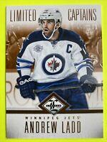 2012-13 Panini Limited Captains #180 Andrew Ladd /199 Winnipeg Jets Insert