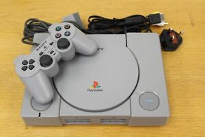 Sony Playstation 1 Audiophile Games Console Cables Included with Controller