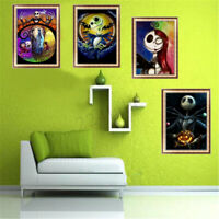 5D DIY Full Drill Halloween skull Diamond Painting Cross Stitch Kits Home