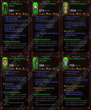 Diablo 3 RoS XBOX ONE [SOFTCORE] Full Primal Vyrs Amazing Arcana Wizard Set