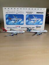 1/400British Airways Boeing B747-400 GeminiJetsGJBAWSET2