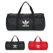 Bolsa Gimnasio adidas Originals AC Duffle Hombre Mujer Negro Rojo Sport Unisex