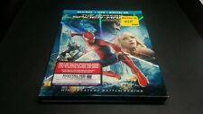 The Amazing Spider-Man 2 [Blu-ray + DVD] Like New!! with slip case