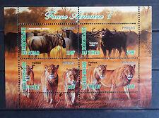 Löwen 05 1 lions Katzen cats Tiere animals Fauna faune Natur postfrisch ** MNH