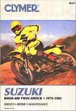 Clymer Suzuki RM50-400 Twin-shock 1975-1981 Service Manual